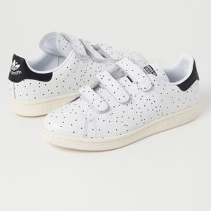 Adidas Stan Smith Black-White Comfort Dot Trainers